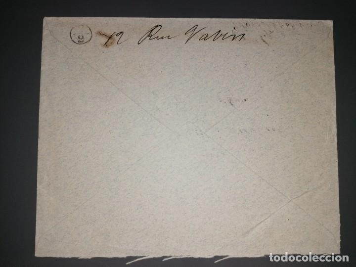 Sellos: Carta, matasellos ESTAFETA DE CAMBIO MADRID 13 NOV 1902 - Foto 2 - 221859572