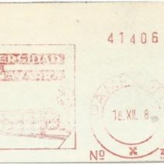 Sellos: 1978. PAMPLONA. NAVARRA. FRANQUEO MECÁNICO. FRAGMENTO. METER CUT. UNIVERSIDAD NAVARRA. MÁQUINA 3310.. Lote 221865133