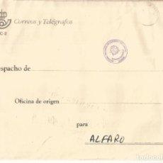 Sellos: LA RIOJA LOGROÑO A ALFARO CORREO INTERNO CORREOS MAT PABELLON POSTAL 1994. Lote 222151627