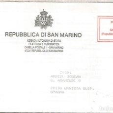 Sellos: SAN MARINO CC PORT PAYE. Lote 222474017