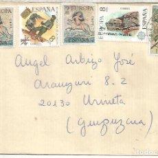 Sellos: BARCELONA CC SELLOS LEGION MILITAR EUROPA CEPT ARTE MOSAICO ROMANO. Lote 222474385