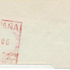 Sellos: 1978. PONTEVEDRA. FRANQUEO MECÁNICO. FRAGMENTO. METER CUT. MÁQUINA 4976.. Lote 222672777