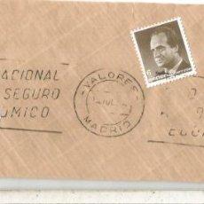 Sellos: MADRID FRAGMENTO CON MAT VALORES Y SERIE BASICA. Lote 222680370