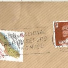 Sellos: MADRID FRAGMENTO CON MAT VALORES Y SERIE BASICA. Lote 222680470