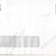 Sellos: CC Y DEVUELTA MARCA A SU PROCEDENCIAAL DORSO MAT BILBAO ABANDO 1994. Lote 222680948