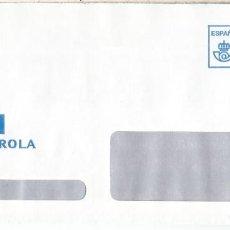 Sellos: CC CON FRANQUEO PAGADO IBERDROLA AL DORSO MAT AZAGRA NAVARRA ELECTRICIDAD ELECTRIC. Lote 222681300