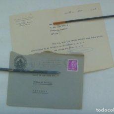 Sellos: CARTA DE LA CASA DE MISERICORDIA DE PALMA DE MALLORCA A PUEBLA DE CAZALLA EN SEVILLA, 1971. Lote 222681650
