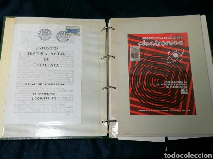 Sellos: España Album sellos correspondencia documentos coches - Foto 3 - 223124585
