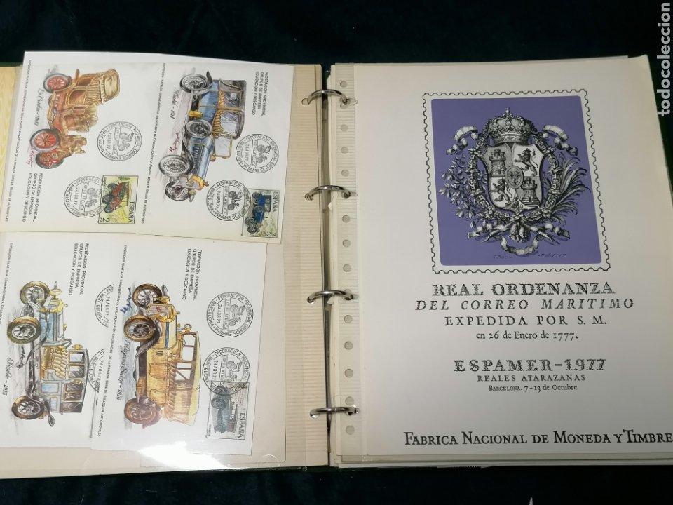 Sellos: España Album sellos correspondencia documentos coches - Foto 5 - 223124585