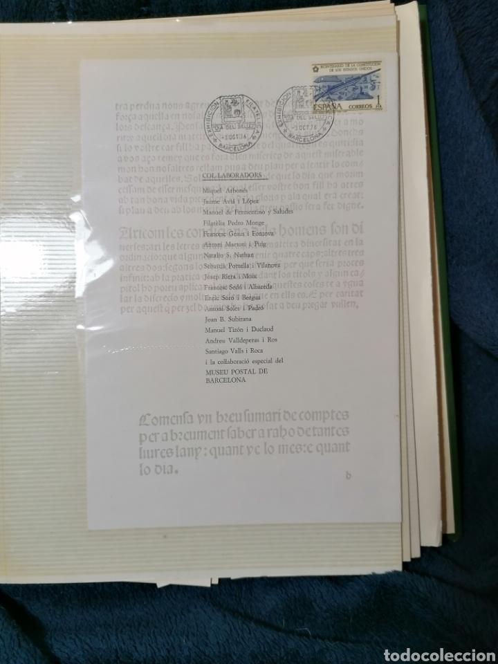 Sellos: España Album sellos correspondencia documentos coches - Foto 7 - 223124585
