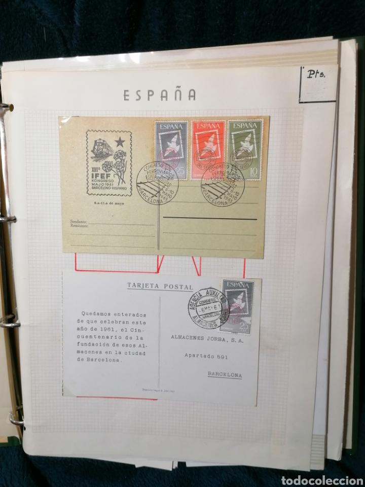 Sellos: España Album sellos correspondencia documentos coches - Foto 8 - 223124585