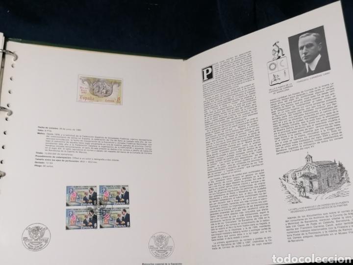 Sellos: España Album sellos correspondencia documentos coches - Foto 9 - 223124585
