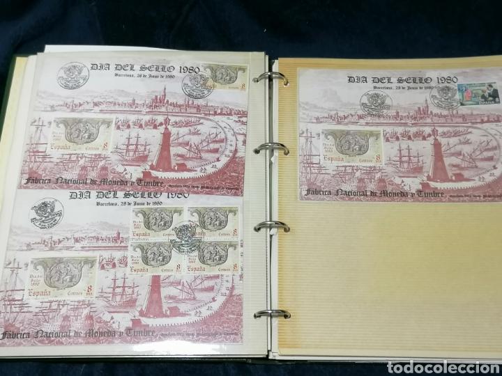 Sellos: España Album sellos correspondencia documentos coches - Foto 13 - 223124585