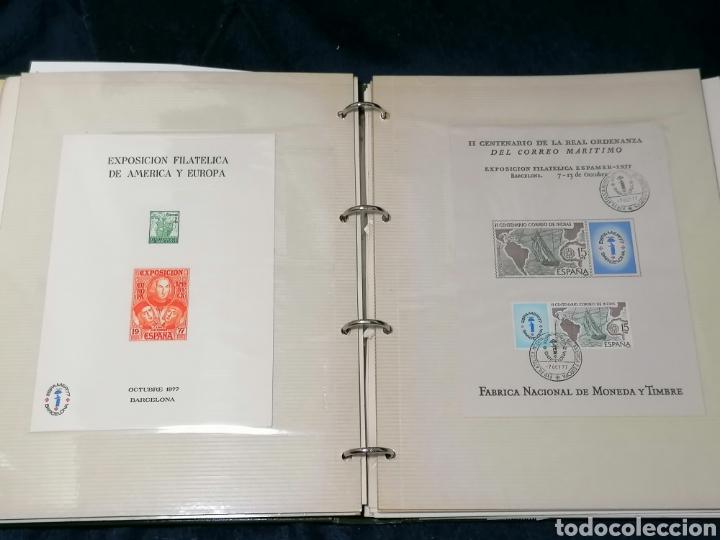 Sellos: España Album sellos correspondencia documentos coches - Foto 14 - 223124585