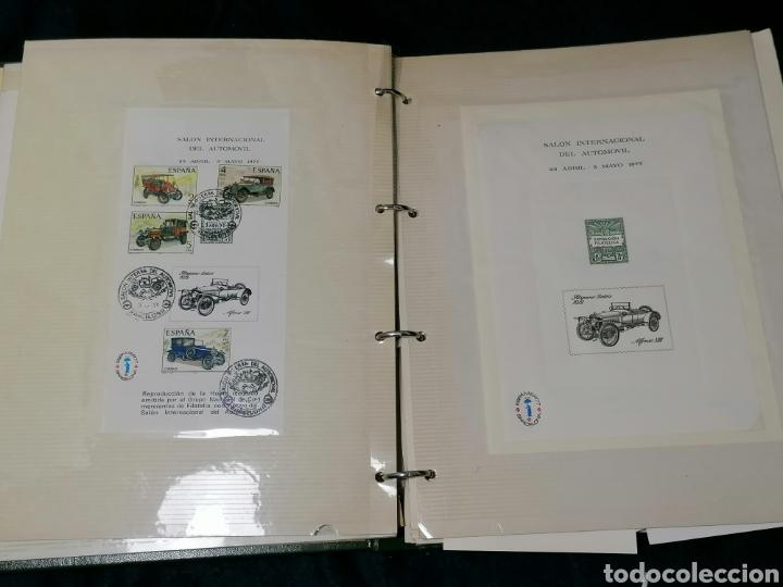 Sellos: España Album sellos correspondencia documentos coches - Foto 2 - 223124585