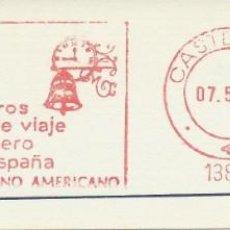 Francobolli: 1982. CASTELLÓN. FRANQUEO MECÁNICO. FRAGMENTO. METER CUT. BANCO HISPANO AMERICANO. MAQ. 13891.. Lote 223523237