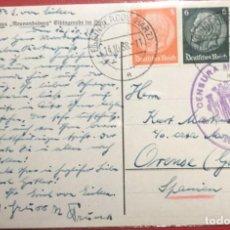 Sellos: CENSURA MILITAR ORENSE. 1938. GUERRA CIVIL. GALICIA. Lote 231742410