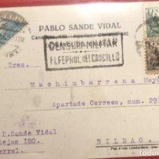 Sellos: CENSURA MILITAR FERROL. 1939. GUERRA CIVIL. GALICIA. Lote 231742685