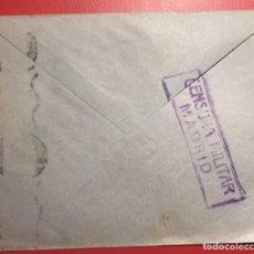 Sellos: CENSURA MILITAR. MADRID. ESTAFETA DE CAMBIO. Lote 231744040
