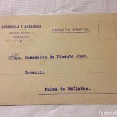 Sellos: CARTA CIRCULADA PALMA DE MALLORCA A BARCELONA. Lote 232246140