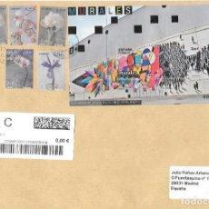 Timbres: EDIFIL 5081 SOBRE CIRCULADO DE VITORIA A MADRID 2021. Lote 238189880