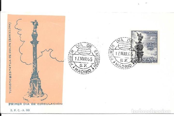 COLON DESCUBRIMIENTO DE AMERICA. LOTE DE 10 CARTAS Y MATASELLOS (Sellos - Historia Postal - Sello Español - Sobres Circulados)