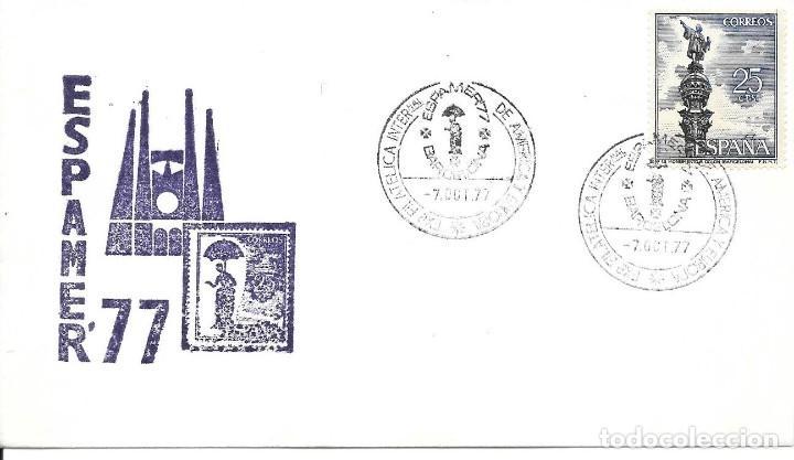 Sellos: COLON DESCUBRIMIENTO DE AMERICA. LOTE DE 10 CARTAS Y MATASELLOS - Foto 2 - 246128830