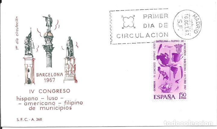 Sellos: COLON DESCUBRIMIENTO DE AMERICA. LOTE DE 10 CARTAS Y MATASELLOS - Foto 8 - 246128830