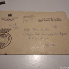 Sellos: SOBRE JUZGADO DE DISTRITO VILLARREAL. Lote 246166305