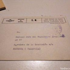 Sellos: SOBRE MILITAR MINISTERIO DE DEFENSA. Lote 246166635
