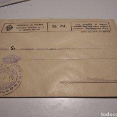 Sellos: SOBRE MILITAR CLÍNICA MILITAR CASTELLÓN. Lote 246168725