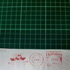 Sellos: LUGO BCI MATASELLO FRANQUEO PRIVADO PAGADO 1986 FILATELIA COLISEVM COLECCIONISMO LIBRERIA. Lote 253673700