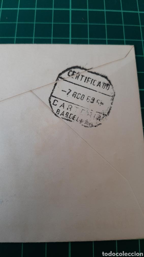 Sellos: 1969 El FERROL DEL CAUDILLO GALICIA MATASELLO FERIA DE MUESTRAS INDUSTRIAL Y PESCA FILATELIA COLISEV - Foto 4 - 254055200
