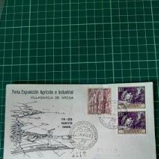 Sellos: CERTIFICADO MADRID MATASELLO VILAGARCÍA DE AROSA PONTEVEDRA GALICIA MATASELLO FERIA EXPOSICIÓN. Lote 257470955