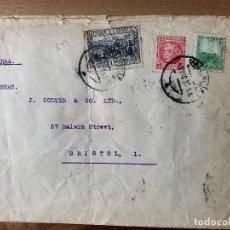 Sellos: 1935. VALENCIA-BRISTOL. EDIFIL 682/687/693.. Lote 257964605