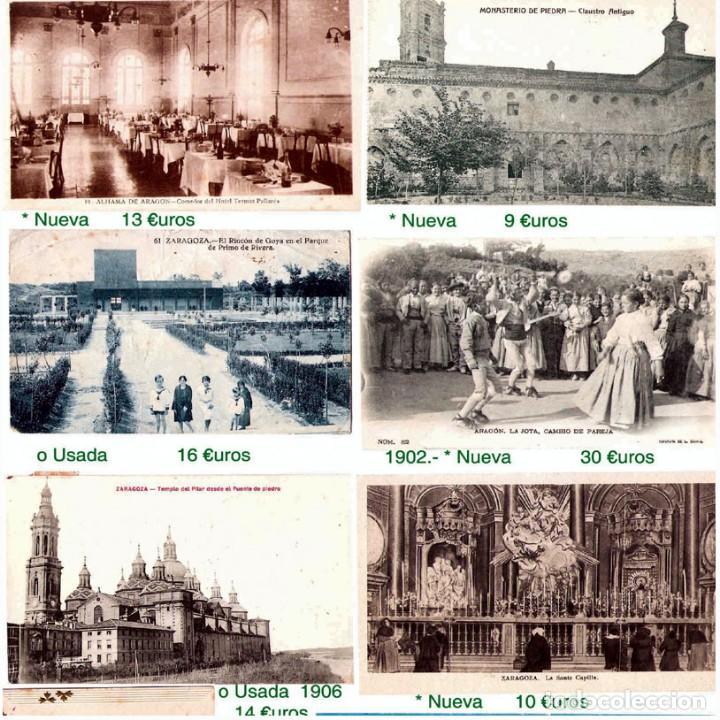 Sellos: ZARAGOZA Y PROV.- HISTORIA POSTAL 16 PLANCHAS CON 123 PIEZAS P.V.P. 3.330 €. VER CONDICIONES. - Foto 17 - 32189219