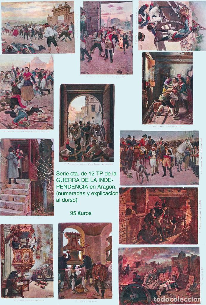 Sellos: ZARAGOZA Y PROV.- HISTORIA POSTAL 16 PLANCHAS CON 123 PIEZAS P.V.P. 3.330 €. VER CONDICIONES. - Foto 21 - 32189219