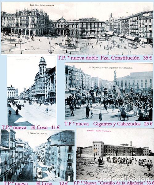 Sellos: ZARAGOZA Y PROV.- HISTORIA POSTAL 16 PLANCHAS CON 123 PIEZAS P.V.P. 3.330 €. VER CONDICIONES. - Foto 23 - 32189219