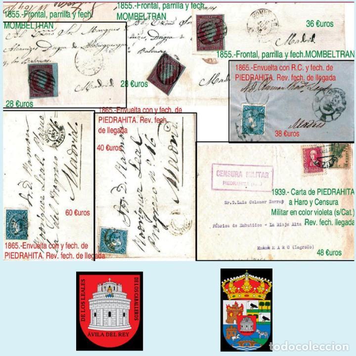 Sellos: AVILA Y PROV.-HISTORIA POSTAL, MATASELLOS, E.LOCALES Y T.P.-P.V.1.956 €. VER 6 PLANCHAS-CONDICIONES - Foto 8 - 31605102