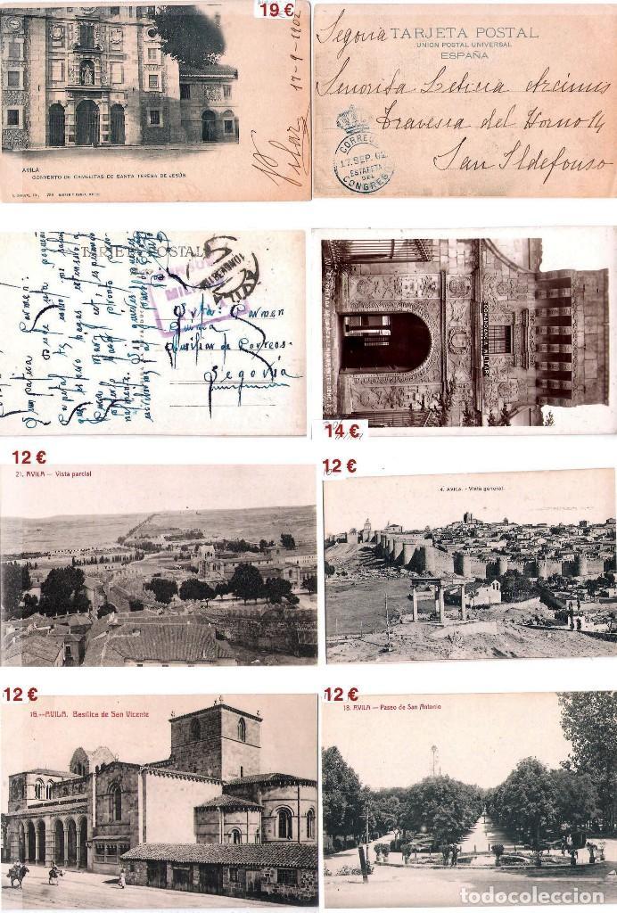 Sellos: AVILA Y PROV.-HISTORIA POSTAL, MATASELLOS, E.LOCALES Y T.P.-P.V.1.956 €. VER 6 PLANCHAS-CONDICIONES - Foto 9 - 31605102