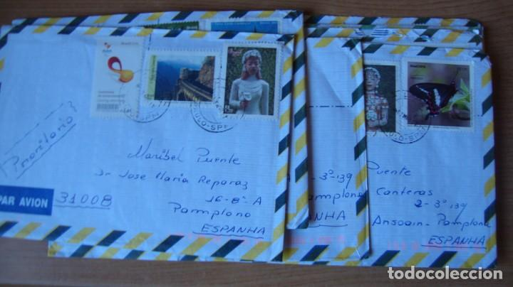 Sellos: LOTE 17 SOBRES CIRCULADOS BRASIL 4 VENEZUELA VER DESCRIPCION Y FOTOS - Foto 2 - 264360479