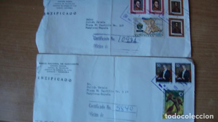 Sellos: LOTE 17 SOBRES CIRCULADOS BRASIL 4 VENEZUELA VER DESCRIPCION Y FOTOS - Foto 5 - 264360479