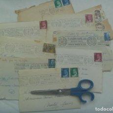 Sellos: LOTE DE 9 CARTAS CIRCULADAS DESDE ESTEPA ( SEVILLA ) AL SEMINARIO DE MARTOS ( JAEN ). Lote 265934483