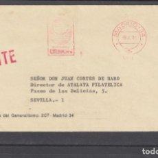 Sellos: FRANQUEO MECANICO 12785 MADRID -34, EDICIONES URBION. Lote 287848698