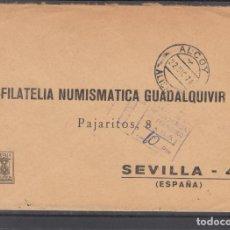 Francobolli: -ALCOY (ALICANTE), MATASELLOS FECHADOR Y TASA FALTA FRANQUEO. Lote 288372463