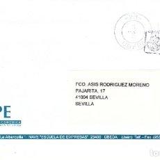 Sellos: FRANQUEO PAGADO AUT. 230801/ Y MATª RODILLO UBEDA (23) JAEN PAQUETE AZUL PAQUETE DOMICILIO .... Lote 288925128