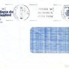 Sellos: FRANQUEO PAGADO AUT. 410376 Y MATª RODILLO HUELVA 21 CONSIGNE EN SUS ENVIOS EL CODIGO POS .... Lote 288925603