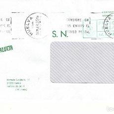 Sellos: FRANQUEO PAGADO AUT. 410340/20 Y MATª RODILLO HUELVA 21 CONSIGNE EN SUS ENVIOS EL CODIGO POS .... Lote 288925858