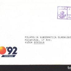 Sellos: FRANQUEO PAGADO AUT. Nº 41 - 1992 SOBRE EXPO 92. Lote 288954663