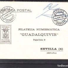 Sellos: SIN SELLO DE FRANQUEO Y FECHADOR BUZONES . BURGOS .. Lote 288960858